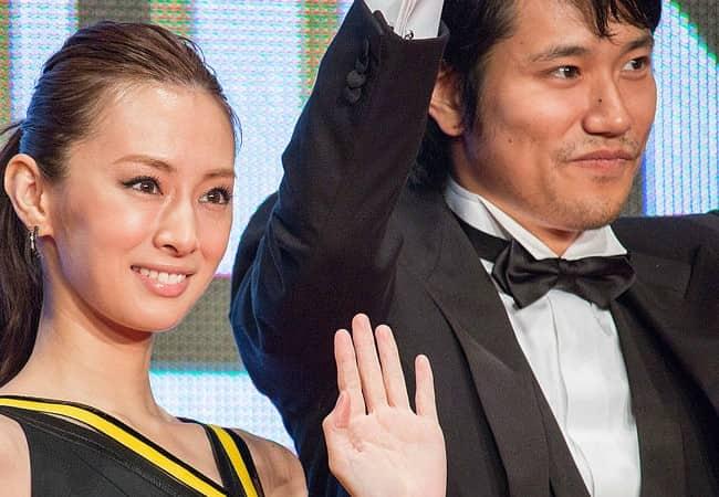 Keiko Kitagawa and Matsuyama Kenichi as seen in October 2015