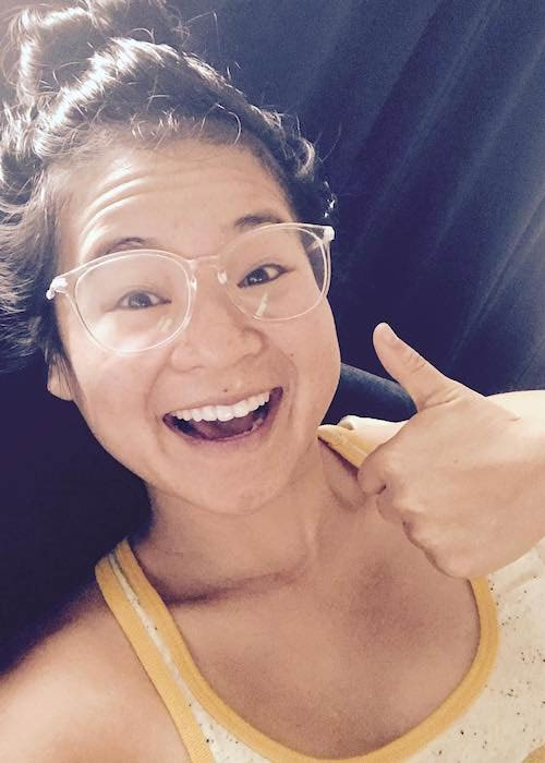 Kelly Marie Tran in an Instagram selfie in October 2017
