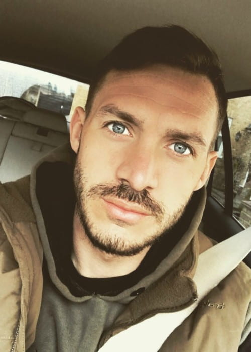 Kirk Norcross in a selfie as seen in March 2018