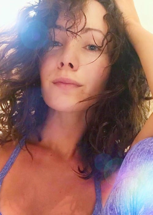 Ksenia Solo in a selfie in October 2017