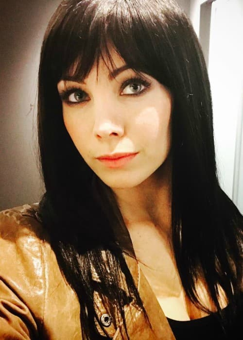 Ksenia Solo in an Instagram selfie in March 2017