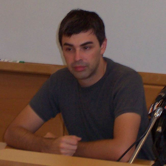 Larry Page as clicked in September 2003