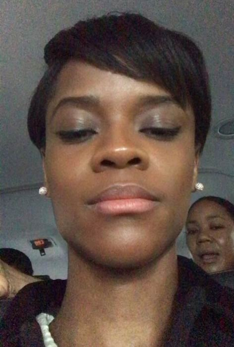 Letitia Wright enjoying her time with friends in the car in February 2018