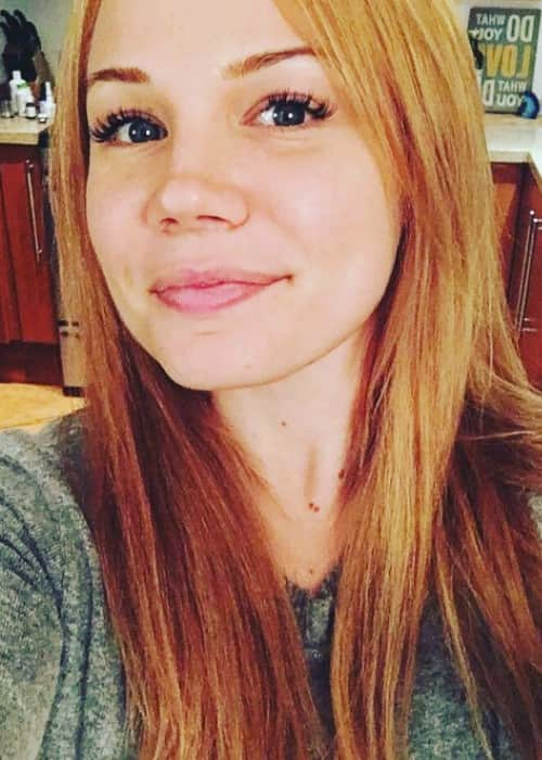 Lisa Schwartz in a selfie in January 2018