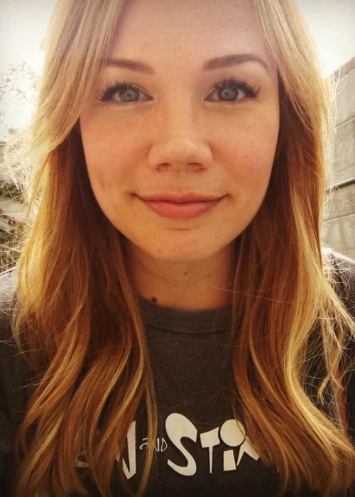 Lisa Schwartz in an Instagram selfie as seen in November 2017