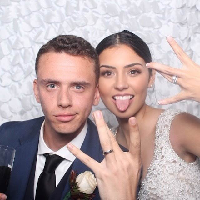 Logic wishing his wife Jessica Andrea Happy Marriage Anniversary on October 23, 2017