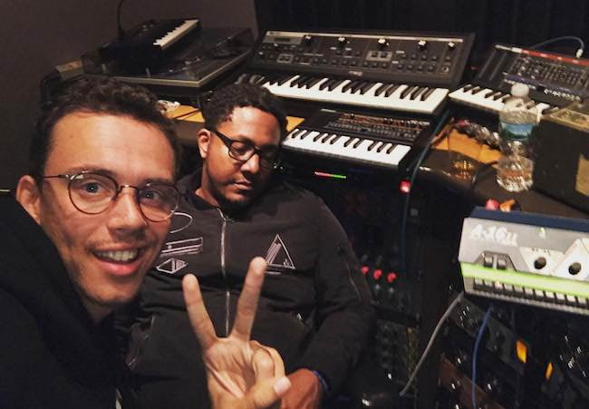 Logic with piano player Kevin as seen in June 2017