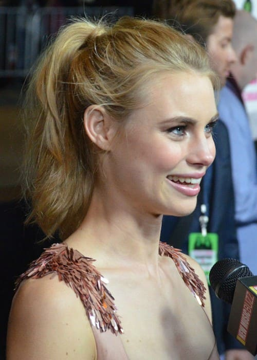 Lucy Fry at the Los Angeles Premiere of Vampire Academy in February 2014