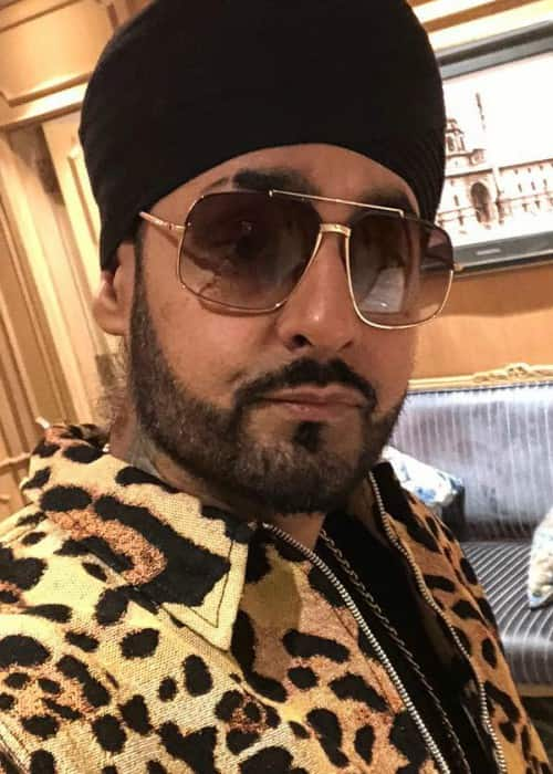 Manj Musik in an Instagram selfie as seen in February 2018