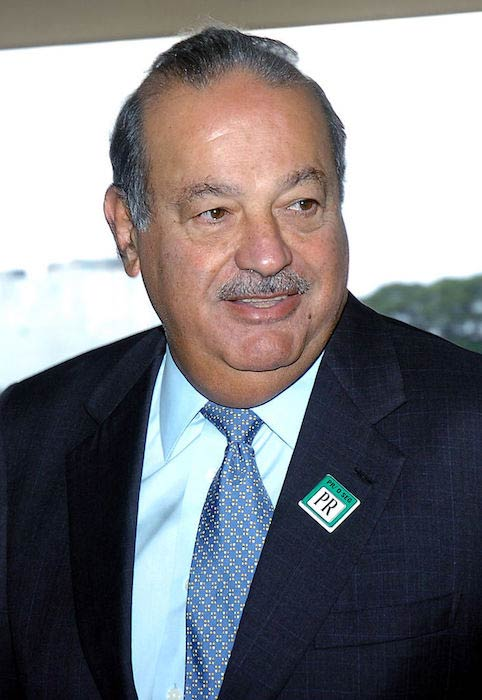 Mexican businessman Carlos Slim Helú
