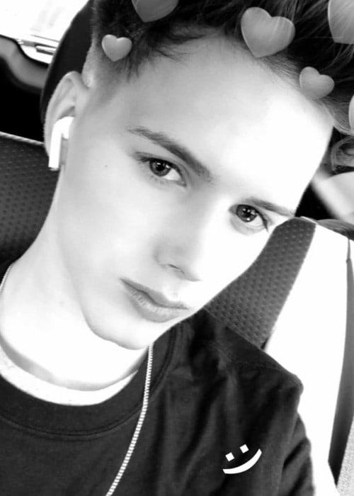 Michael Conor in an Instagram selfie as seen in February 2018