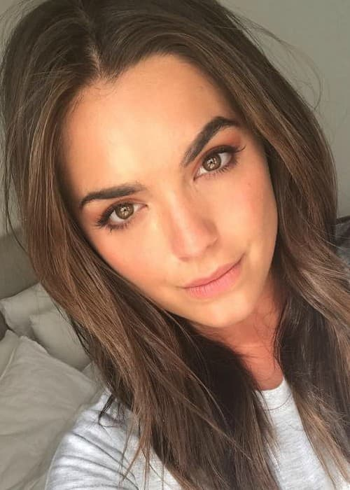 Olympia Valance in an Instagram selfie as seen in October 2017