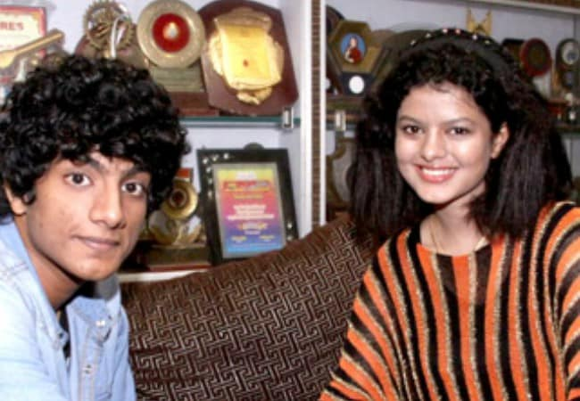 Palak Muchhal and Palash Muchhal as seen in August 2013