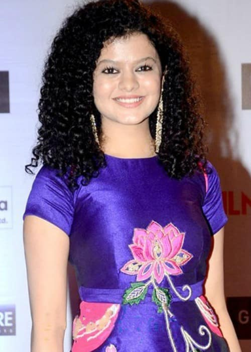 Palak Muchhal at Filmfare in November 2016