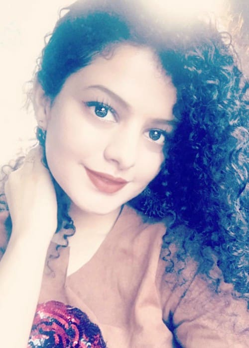 Palak Muchhal in a selfie in November 2017