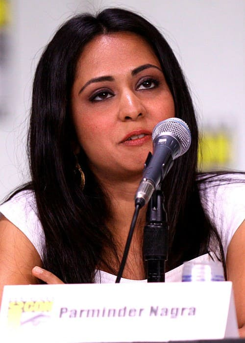 Parminder Nagra at the 2011 Comic Con in San Diego