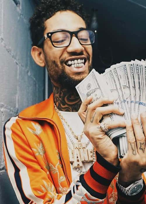 PnB Rock as seen in February 2018