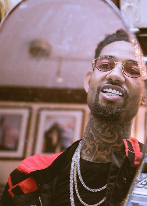 PnB Rock in an Instagram picture as seen in October 2017