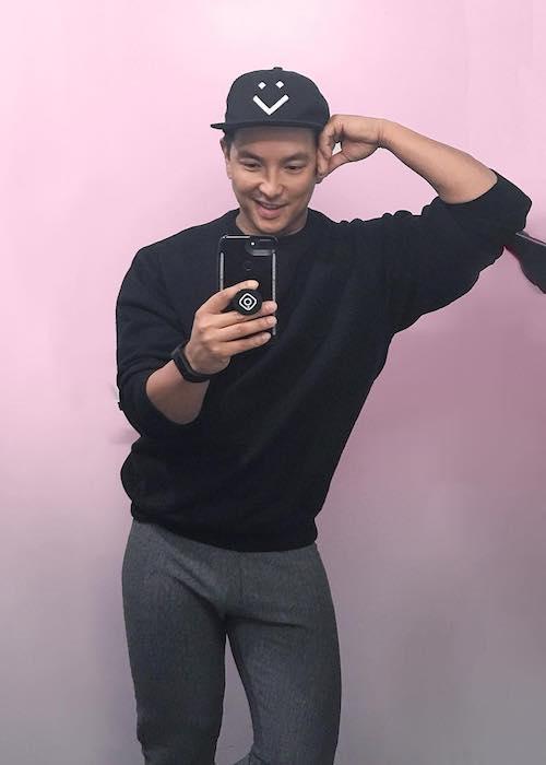 Prabal Gurung in a selfie in New York in January 2018