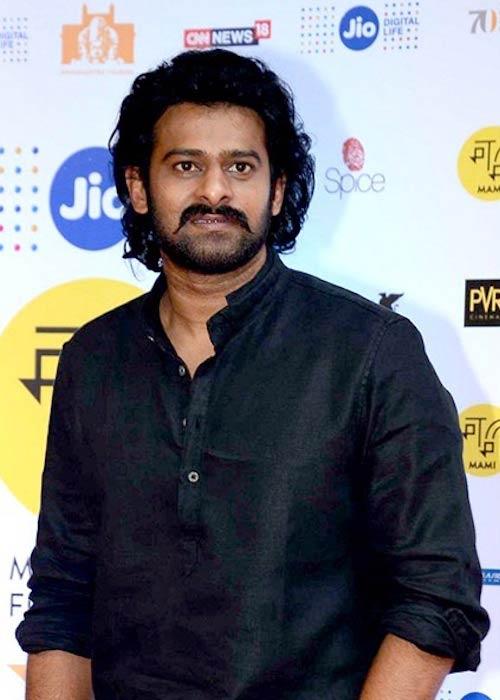 "Prabhas at MAMI 18th Mumbai Film Festival promoting ""Baahubali 2: The Conclusion"""