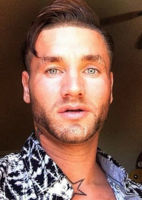 RiFF RAFF showing his new haircut in an Instagram selfie as seen in March 2017