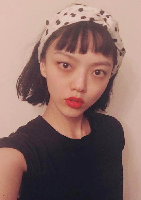 Rila Fukushima in an Instagram selfie in February 2018