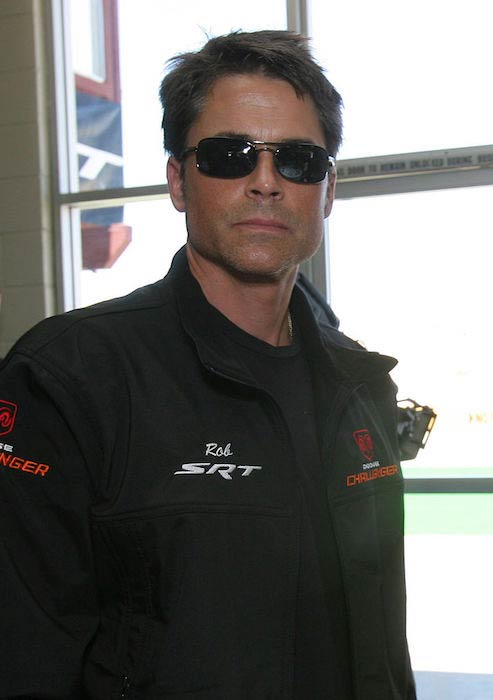 Rob Lowe clicked before All New Dodge Challenger in 2009