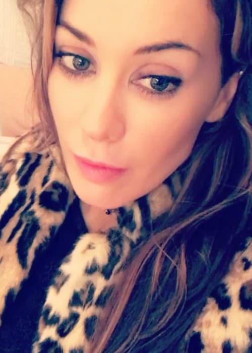 Roxanne Mckee in a still from an Instagram video as seen in December 2017