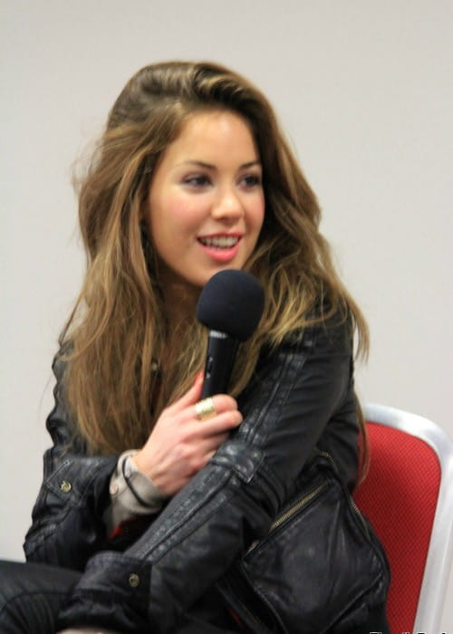 Roxanne Mckee talking about Game Of Thrones in July 2012