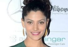 Saiyami Kher Healthy Celeb