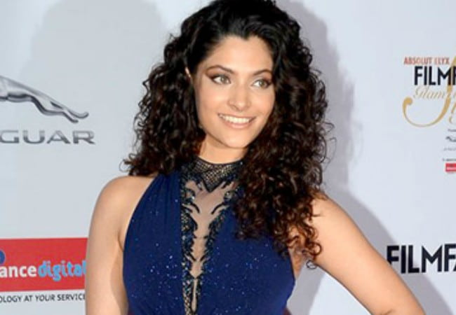 Saiyami Kher at the Filmfare Glamour & Style Awards in October 2016