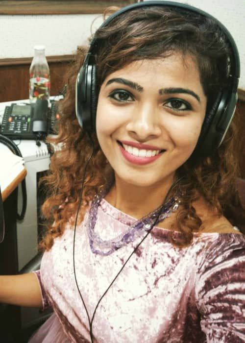 Sanah Moidutty at the All India Radio station as seen in December 2017