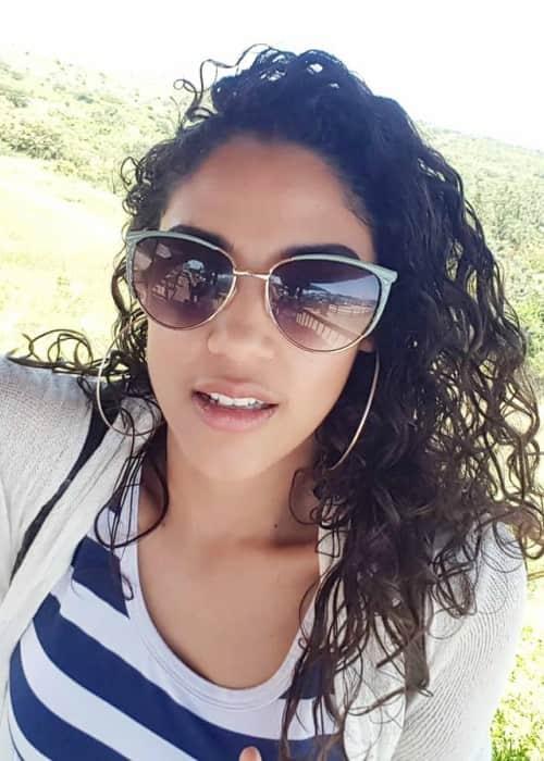 Shamilla Miller in an Instagram selfie as seen in January 2018