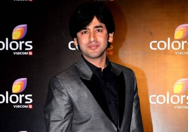Shashank Vyas during Colors TV Party in 2015