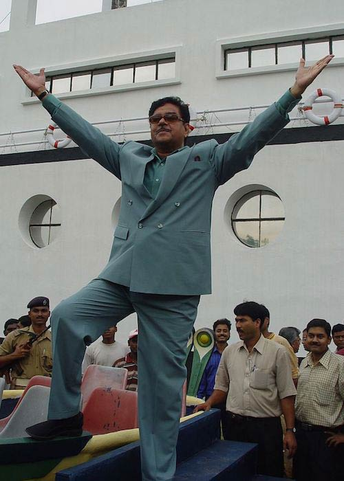 Shatrughan Sinha during Maritime Centre Inauguration Function in Science City, Kolkata in 2003