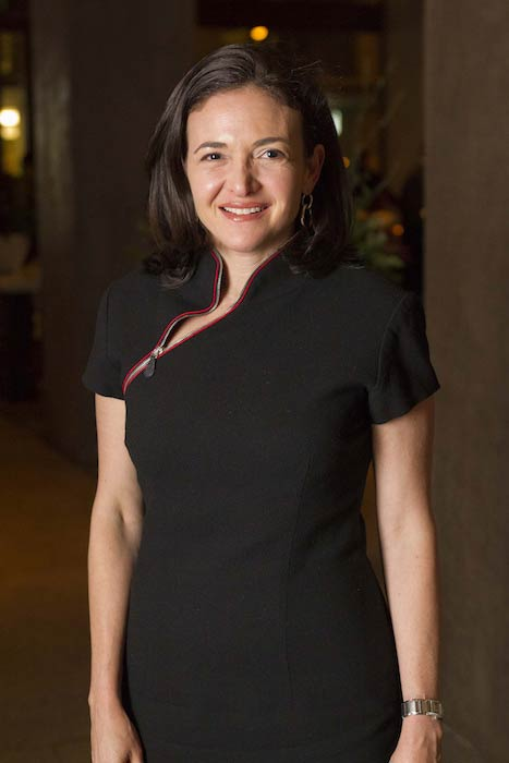 Sheryl Sandberg at Moët Hennessy Financial Times Club Dinner in San Francisco in 2011