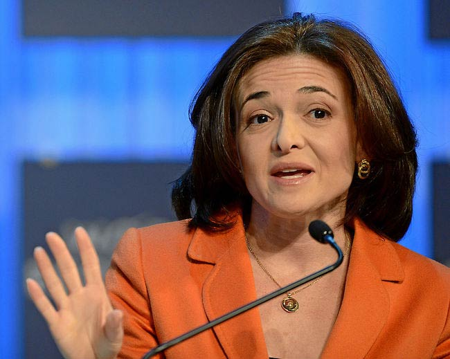 Sheryl Sandberg at the Annual Meeting 2013 of the World Economic Forum