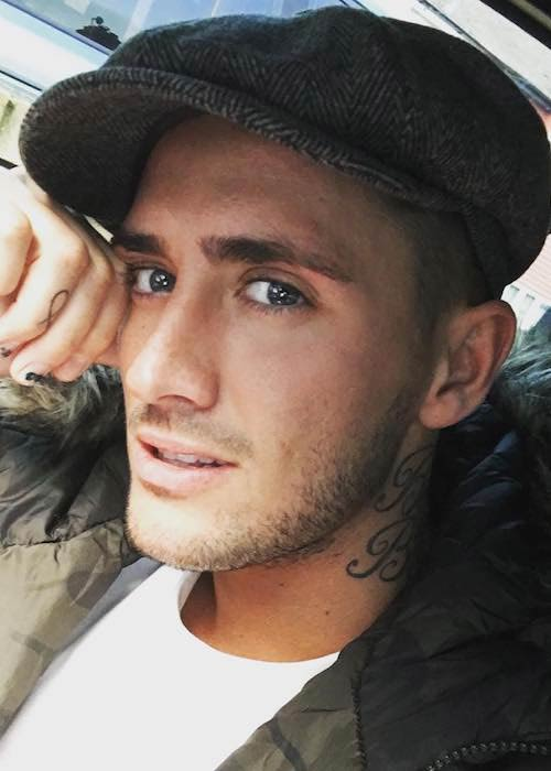 Stephen Bear in an Instagram selfie in April 2017