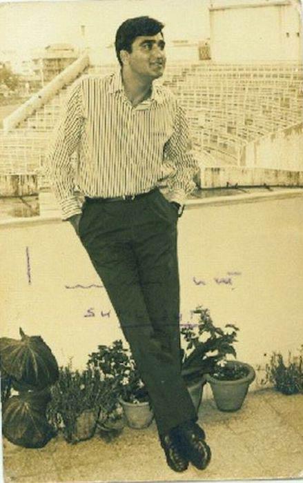 Sunil Dutt's signed photo
