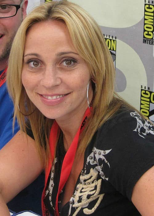 Tara Strong at San Diego Comic-con in July 2009