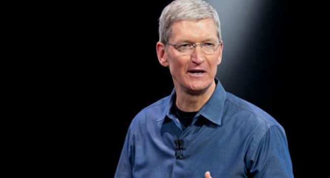 Tim Cook as seen in November 2015