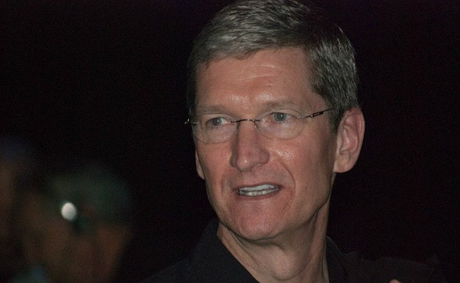 Tim Cook at the Macworld Expo in January 2009