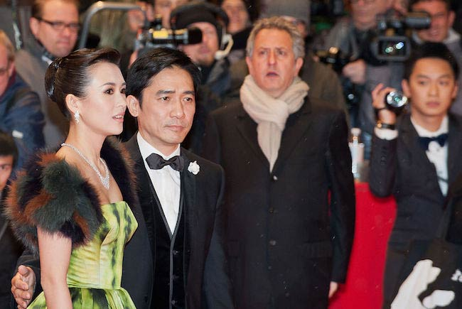 Tony Leung Chiu Wai and Zhang Ziyi at Berlin Film Festival 2013
