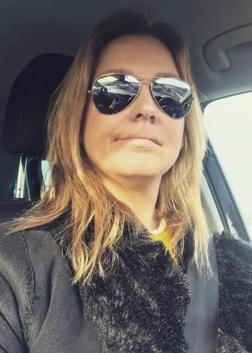 Vanessa Oliveira in a selfie in January 2018