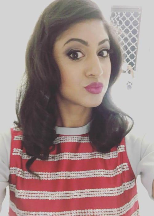 Vella Lovell in an Instagram selfie as seen in May 2016