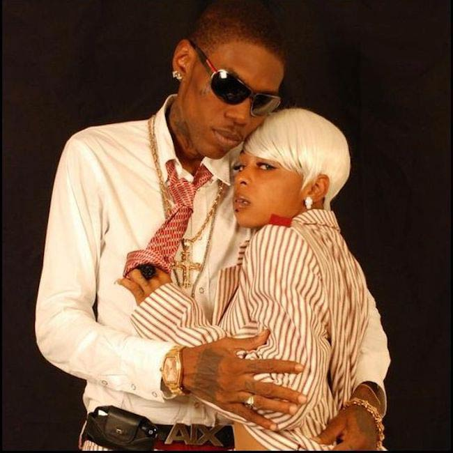 Vybz Kartel and Lisa Hype