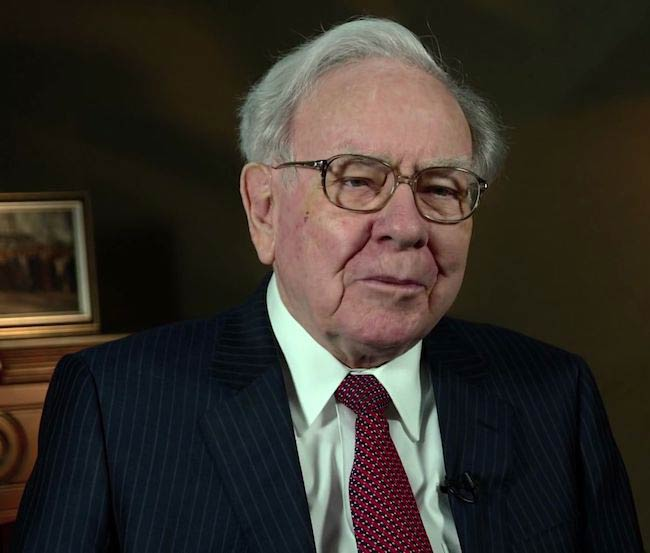 Warren Buffett during the 2015 SelectUSA Investment Summit