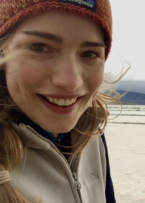 Willa Fitzgerald in a selfie in Donegal in September 2017