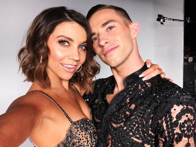 Adam Rippon and Jenna Johnson were partnered together on DWTS in 2018