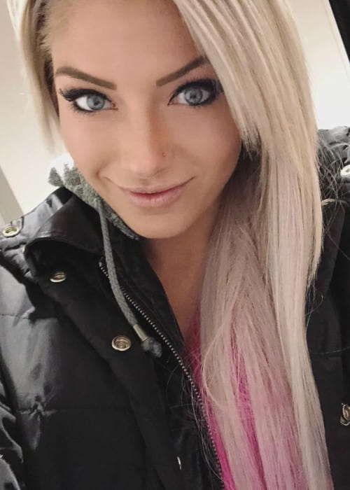 Alexa Bliss as seen in March 2018